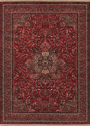 Couristan Kashimar 9'10 X 14'1 Rectangle Area Rugs In Antique Red