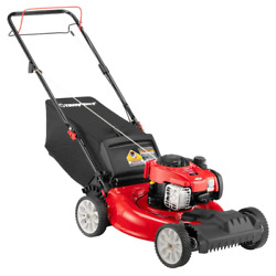 Self Propelled Lawn Mower 21 In. 140cc Briggs And Stratton Engine 2-in-1 Gas Fwd