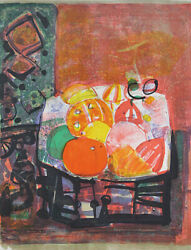 Aizpiri Still Life Lithograph Autograph Available In Editions