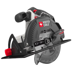 Porter Cable 20v Max Lithium-ion 6.5-inch Cordless Circular Saw Tool Only- New