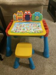 Vtech 80-194801 Touch And Learn Activity Desk With 3 Expansion Packs