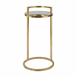 Uttermost Cailin Jim Parsons Iron And Glass And Mdf Accent Table 24886