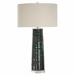 Uttermost Chamila Jim Parsons Ceramic And Iron Table Lamp 27860