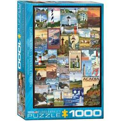 Lighthouses Vintage Poster 0779 Puzzle