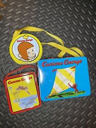 Vintage - Curious George Metal Lunch Boxes Set Of 3