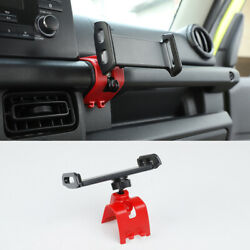 Red Car Table Mount Mobile Phone Holder Cell Stand Fit For Suzuki Jimny 2019-21