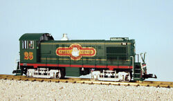 Usa Trains G Scale R22566 Christmas Green/si Alco S4 Diesel Switcher Locomotive