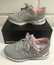 Zeba Hands Free Sneakers Shoes Rose Grey Women's Size 7.5 New In Box W/ Tags