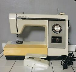 Kenmore Sears And Robuck Company Sewing Machine Model 1783080