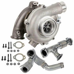 For Ford Excursion 6.0l Powerstroke 2003 2004 Garrett Turbo Charge Pipe Kit Dac