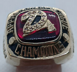 Solid 10k Gold, 2006 Appalachian League Champions Ring, Size 12, 42.7 Grams
