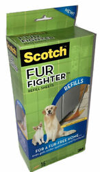 Scotch Refill Sheets Fur Fighter 16 Dry Refill Sheets 3m Pet Hair Floor Sweeper
