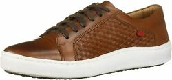 Marc Joseph New York Menand039s Leather Made In Brazil Luxury Lace-up Weave Detail Fa