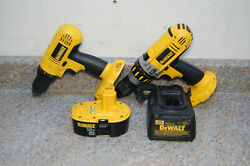 Dewalt 18v Drill / Hammer Drill Kit With 1 Battery And Charger - Free Shipping