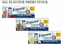 Ensure Original Nutrition Meal Replacement Shakes 9g Of Protein 8 Fl Oz, 24 Ct