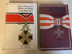 Orders Decorations Medals Badges Third Reich Littlejohn German Nazi Ww2 Vol 1and2