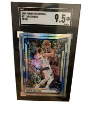 Luka Doncic 2019 Panini The National Gold Party Vip Prizm 27 Sp 9.5 Rare