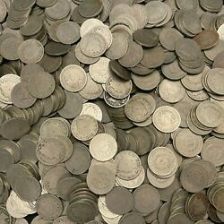 800 Liberty V Nickels Mixed Dates Average Circulated Or Higher Us Coins Lot