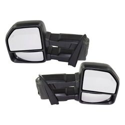 Mirrors Set Of 2 Left-and-right Heated For F150 Truck Lh And Rh Ford F-150 Pair