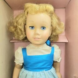 Vintage Mattel Strawberry Blonde Chatty Cathy Doll 1959 Original Box And Book
