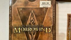 Massive Vintage Pc Game Lot - Morrowind - More Games Were Added On 9/1/2021