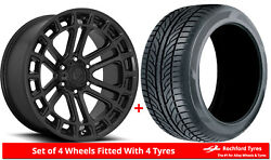 Alloy Wheels And Tyres 20 Fuel Heater D718 For Nissan Frontier [mk1] 97-04