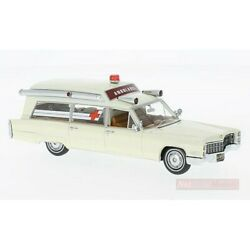 Scale Model Compatible With Cadillac Sands Ambulance White 143 Neo Scale Models N