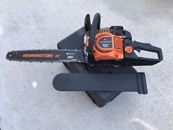 Remington 46cc 2-cycle 20in. Gas Powered Chainsaw With Carrying Case