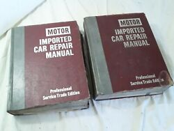 Import Motor Auto Repair Manuals 1970's 3rd Edition And 4th Edition  - Imp306