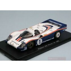 Scale Model Compatible With Porsche 956 N.1 Winner Lm 1982 J.ickx-d.bell 143 Re