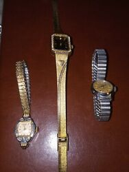 Sarah Coventry Watch Supreme Vintage Rhinestone Working New Battery