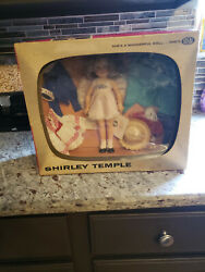 Vintage 1950and039s Shirley Temple Vintage Doll Gift Set   In Tv Style Box