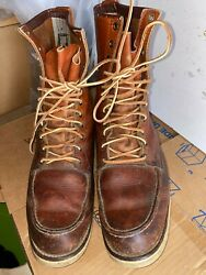Vintage Red Wing Irish Setter Sport Hunting / Work Boots Menand039s Size 13 B