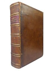 A Dictionary Of The English Language By Samuel Johnson 1843 Leather-bound