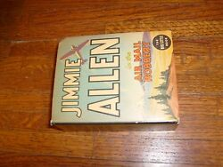 Vintage Big Little Book Jimmie Allen In The Air Mail Robbery, Fine+