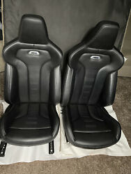 🦉2015-2020 Oem Bmw F82 M4 Coupe Factory Leather Heated Seats Excellent