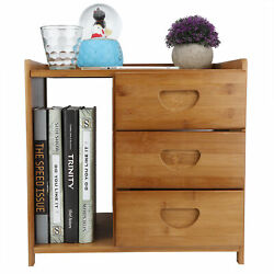 Bedroom Table Durable Nightstand Stable Structure Strong Natural For Bedroom