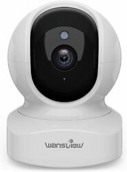 Wansview Q5 Wireless Indoor Dome Security Camera 1080p 2 Way Audio Night Vision