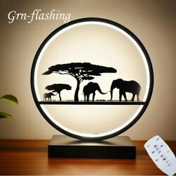 3 Way Dimmable Table Light Wireless Remote Control Bedroom Home Decoration Lamp