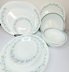 Corelle Country Cottage Assorted Dishes Euc