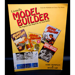 Lionel's Model Builder The Magazine That Shaped The Toy Train Hobby 1998 Rare