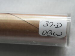 1937 D Obw Roll Head - Tail Wheat Cent Uncirculated Unopened
