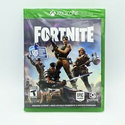 Sealed Fortnite Xbox One 2017 1st Print Game Storm Master Weapon Pack New Rare