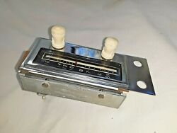 Vintage Radio Control Head Nos With Knobs And Faceplate     - M189