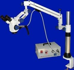 Free Shipping Dental Haag Straight Type Slit Lamp With Accessories