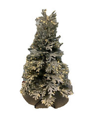 Balsam Hill Frosted Fraser Fir Narrow 5.5' Candlelight Led Retail Gorgeous/messy