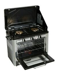 Camp Chef Outdoor 2-burner Range With Oven - Free Shipping