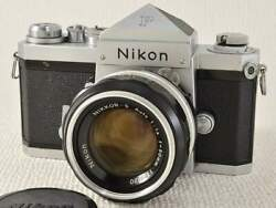 Nikon Eye Level 699 Ai Nikkor 50mm F1.4 With Original Box Case Well Maintained