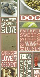 5 X 12 DOG STICKERS * REDUCED BY CLOUD 9