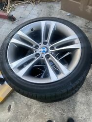 Bmw 3 And 4 Series Oem Factory Style 397 18 Wheels Tpms Tires And Center Cap Set